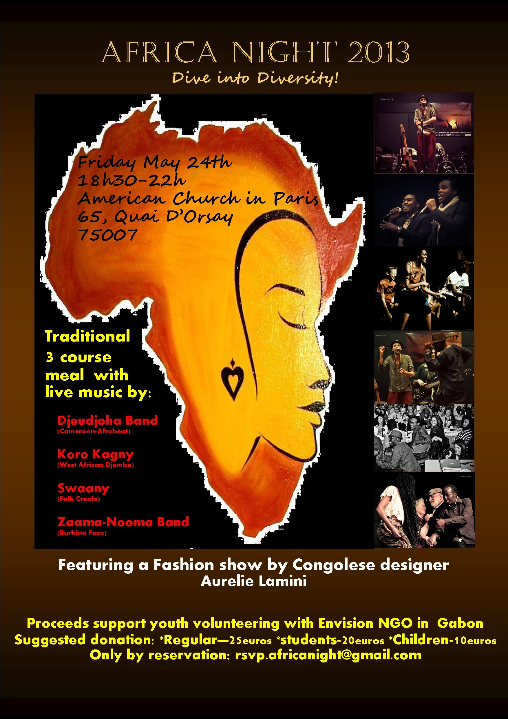 Africa Night 24 May