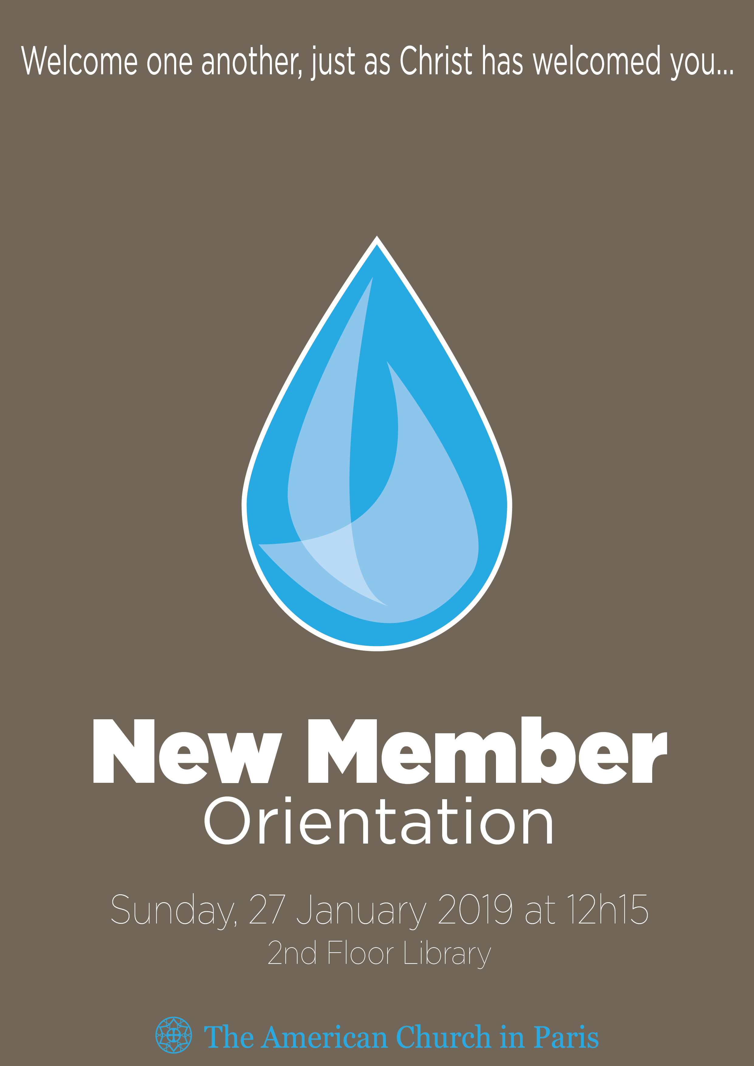 New Member Orientation - 27 January 2019