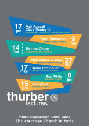 Thurber Lectures Winter Spring 2017