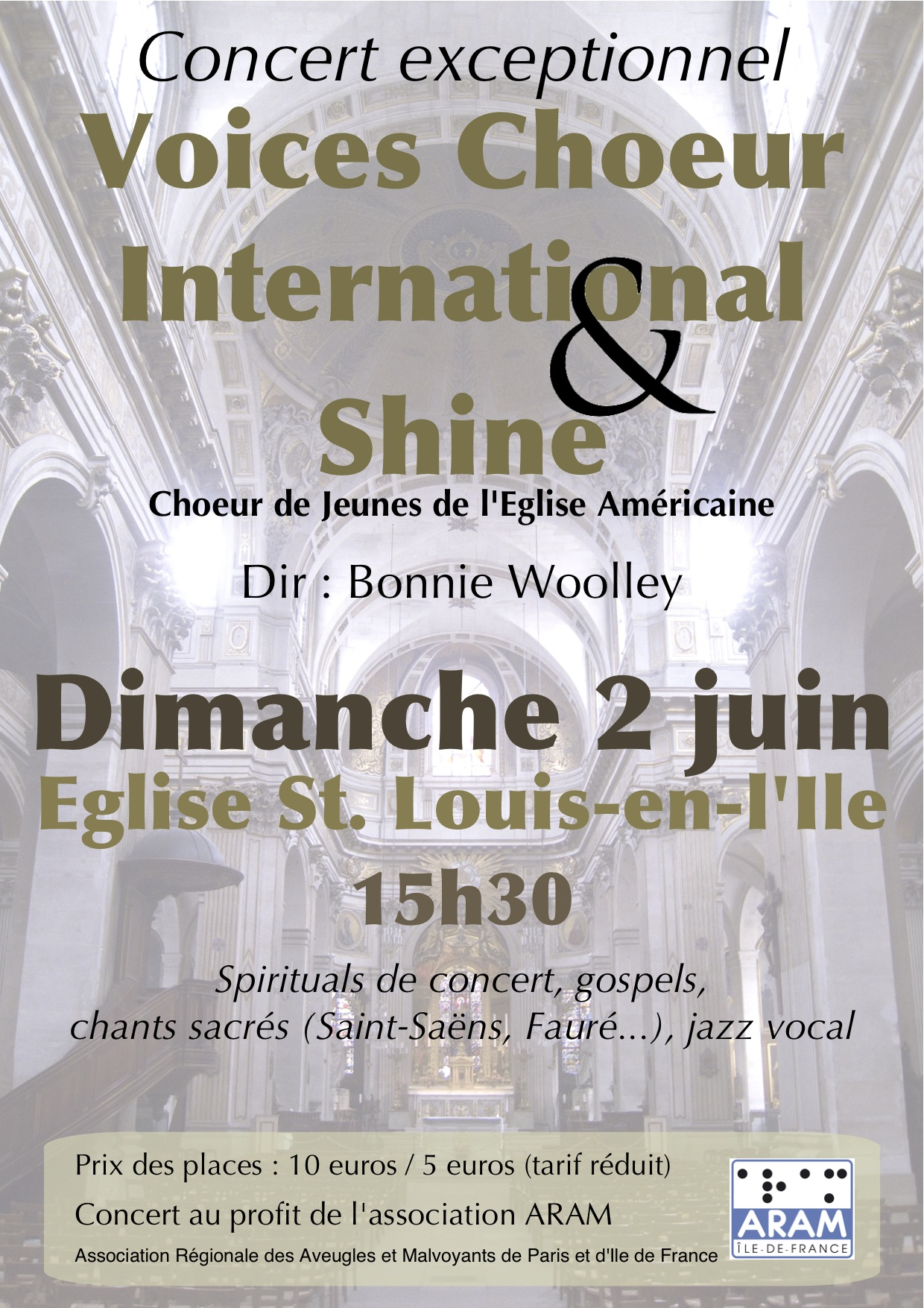Voices Choeur International and Shine (ACP Youth Choir)
